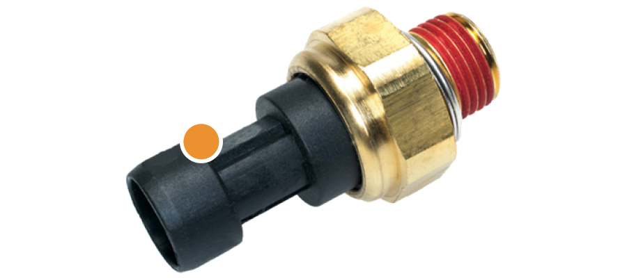 Engine Oil Pressure Switch-Sender With Light Standard PS-160