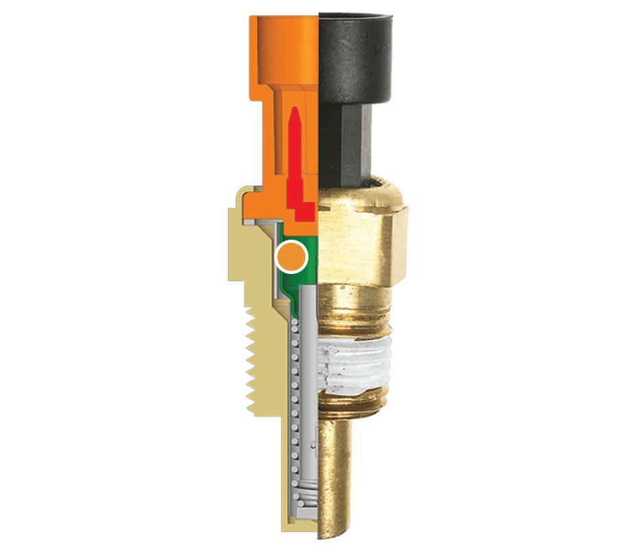 TX74 EXP Automotive Electrical Parts Engine Coolant Temperature Sensor